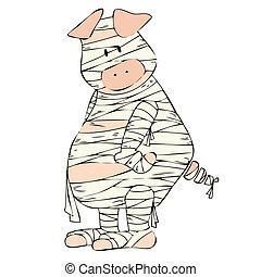 Mummy Pig.