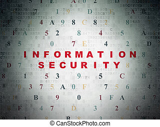 Privacy concept: Information Security on Digital Data Paper...