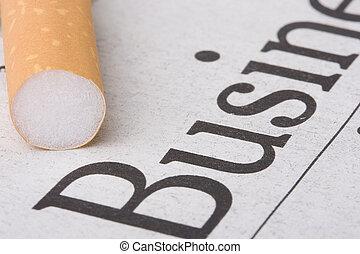 cigarro, negócio