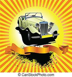 Rarity cars club award on sunrise