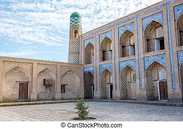 Atrium of the madrassa, Khiva - Atrium or the old madrassa...