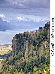 Columbia River Gorge Oregon state.