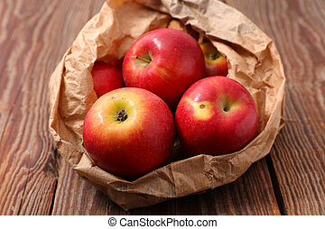 red biologic apple