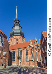 Cosmas and Damian church in Hanseatic city Stade, Germany