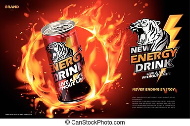 energy drink ad
