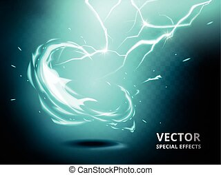 electricity current special effect - electricity current...