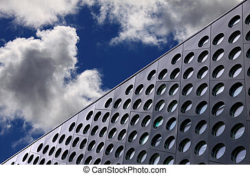 Architecture detail and sky