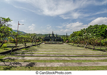 temple brahma vihara arama in bali