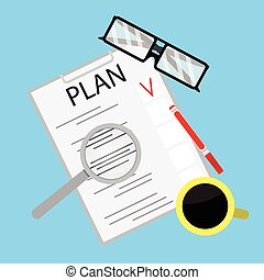 Process of business planning