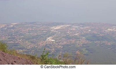 The volcano Vesuvius, Italy - Vesuvius volcano Italy May....