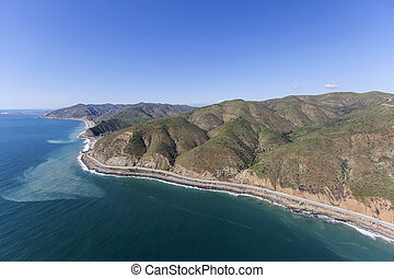 Unspoiled Malibu California Coast