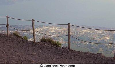 The volcano Vesuvius, Italy - Vesuvius volcano Italy May...