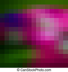 Abstract  multicolored mosaic background