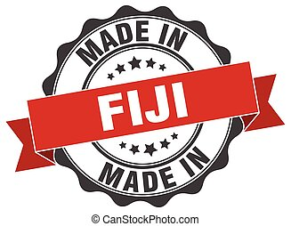 made in Fiji round seal