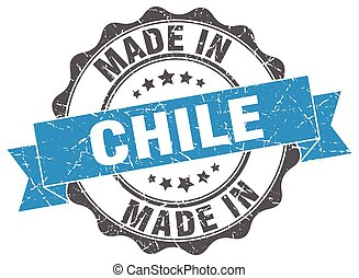 made in Chile round seal