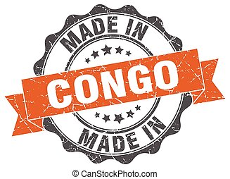 made in Congo round seal