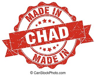 made in Chad round seal