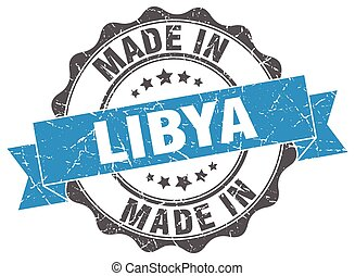 made in Libya round seal