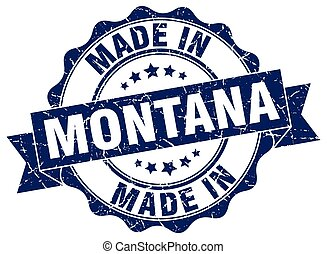 made in Montana round seal