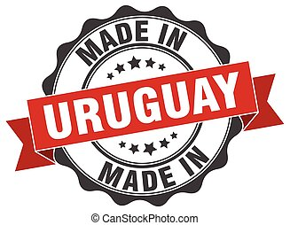 made in Uruguay round seal