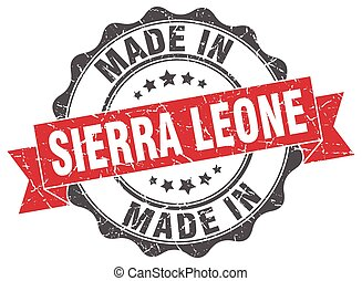made in Sierra Leone round seal