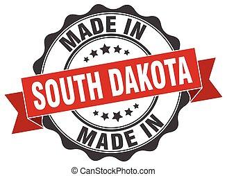 made in South Dakota round seal
