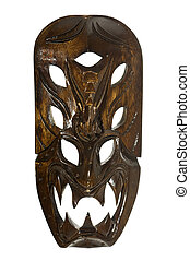 Tribal Mask from The Philippines - Souvenir Tribal mask from...