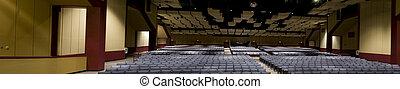 Panorama on Interior of Auditorium