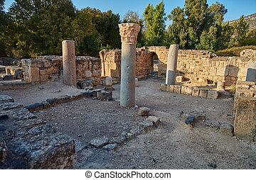 Ruins at the Golan, Israel