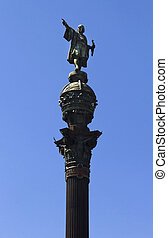 Columbus Column Barcelona - Christopher Columbus