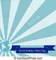 World amateur radio day.