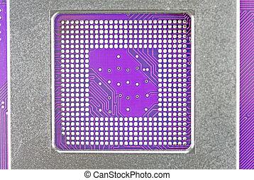 Circuit board - Closeup of electronic circuit board