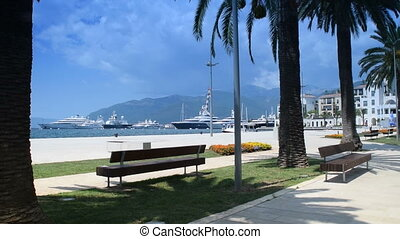 "beauty and peace near the sea, ""Porto Montenegro"", Tivat,..."