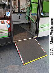Wheelchair Bus Ramp