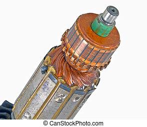 rotor, eléctrico,  motor