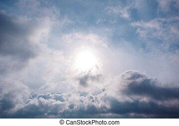 Sunrise in the clouds at Crimea - Sunrise in the clouds of...