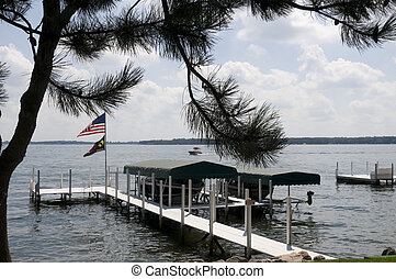 Okoboji in Iowa - Lake Okoboji in Iowa