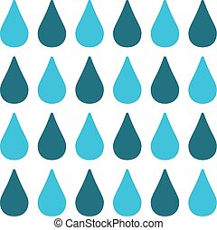 seamless pattern with blue drops