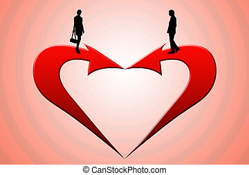 It is love... - The image - a metaphor (the main way -...