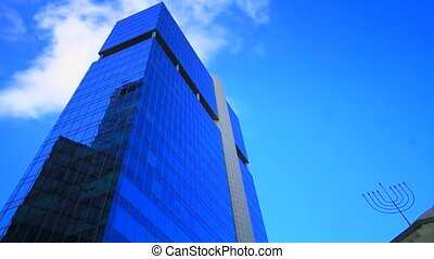 Time lapse Office building