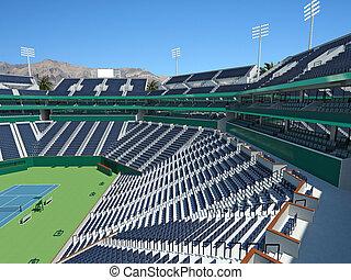 3D render of beutiful modern tennis masters lookalike...