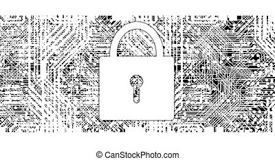 Security Abstract Backgrounds