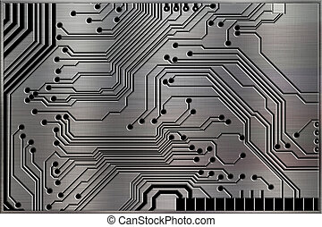 Abstract Technology Backgrounds on Metal background texture