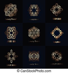 Luxury brand designs - Collection of luxurious brand designs