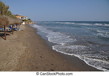 Costa del Sol beach - beautiful beach in Costa del Sol...
