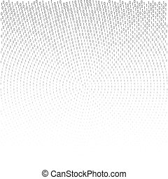 Binary code vector halftone texture. - Binary code black and...