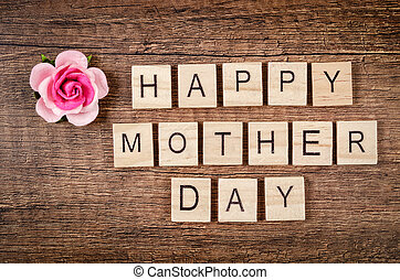 Happy mother day concept.