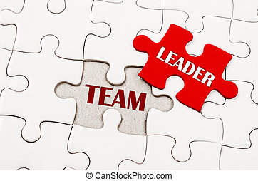 Business teamwork concept. - The Missing puzzle with TEAM...