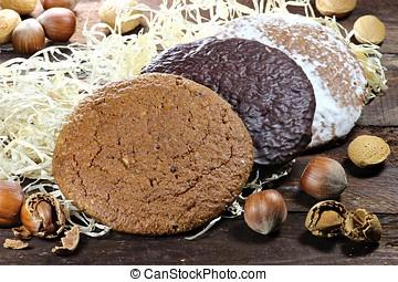 gingerbread made in Nuremberg - Nuremberg is a city in...