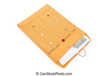 File Envelope - Manila Paper File Envelope close up